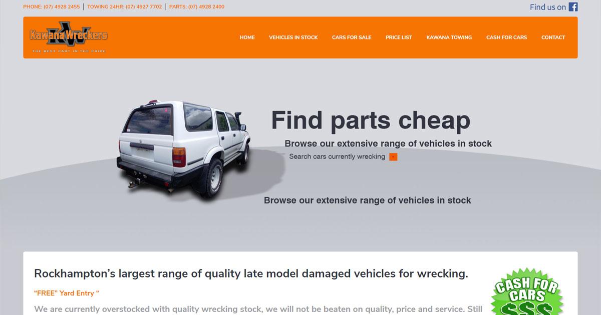 Rockhampton Full Service Car Wreckers | Kawana Wreckers